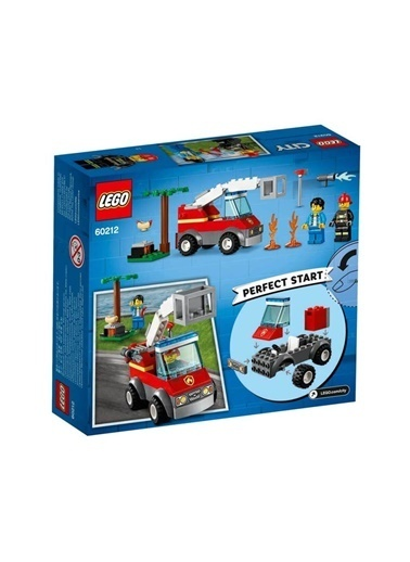 Lego  City Barbecue Burn Out 60212 Renkli